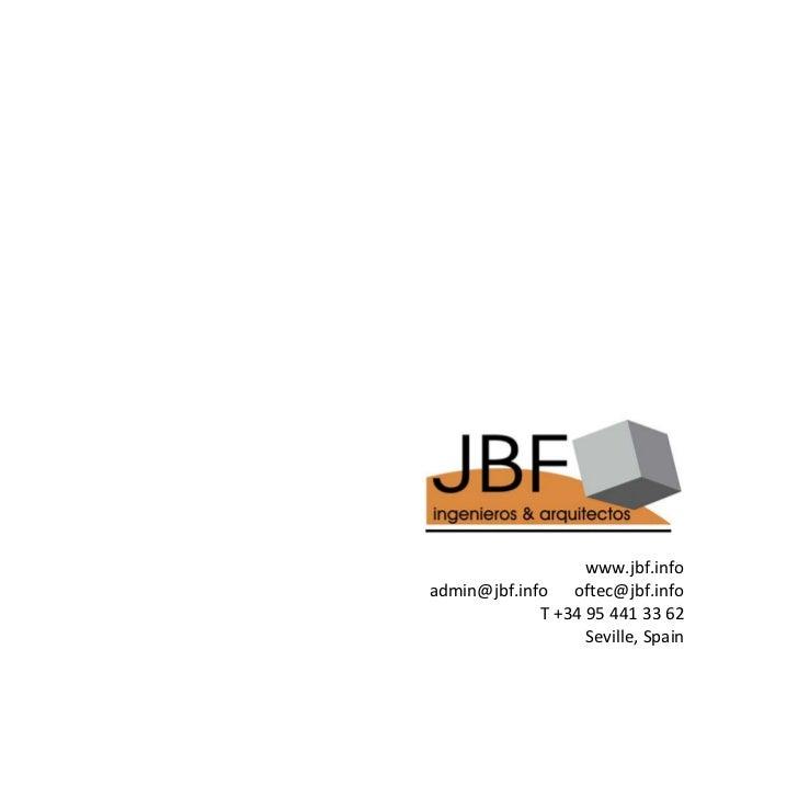 www.jbf.infoadmin@jbf.info oftec@jbf.info             T+34954413362                   Seville,Spain