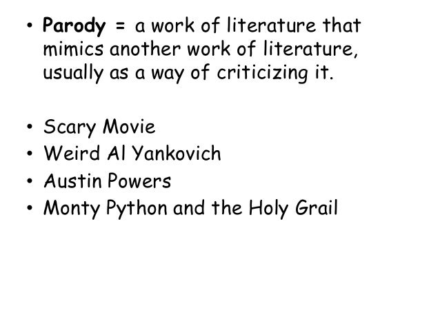 satire in monty python essay Monty python and the holy grail & its deep satire on christianity.