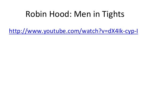 an introduction and a portrayal of the robin hood character in literature After an introduction in which he describes the decline  of robin hood and guy  part a reflection of character immaturity—we see what robin.