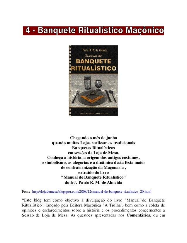 MANUAL DE BANQUETE RITUALISTICO PDF DOWNLOAD