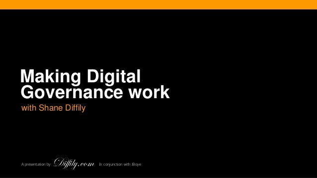 @diffily | @siteimprove | #WebGovernance@diffily | @siteimprove | #WebGovernance In conjunction with JBoyeA presentation b...