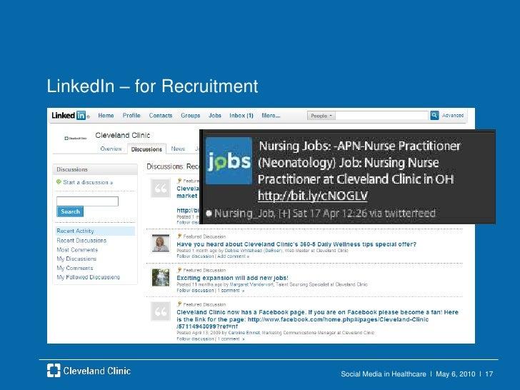 Social Media in Healthcare  l  May 6, 2010  l  16<br />Twitter<br />