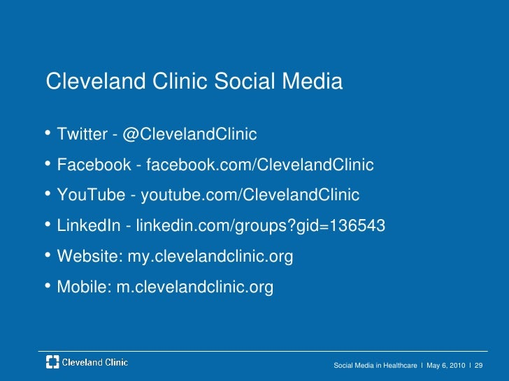 Social Media in Healthcare  l  May 6, 2010  l  26<br />Future<br />Mobile Apps – wellness, other<br />Convergence of eHeal...