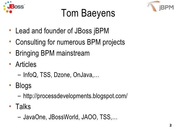 jBPM 4 BeJUG Event March 20 2009 Slide 2