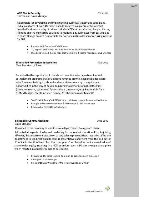 JimWBernard Resume
