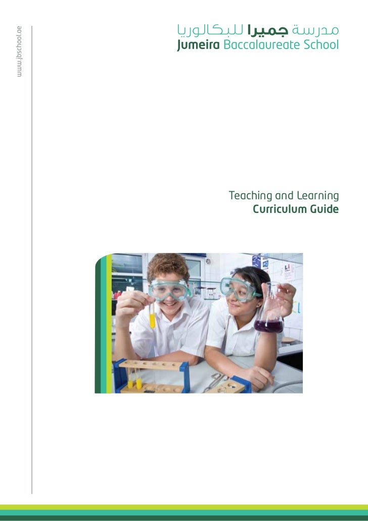 Teaching and Learning    Curriculum Guide