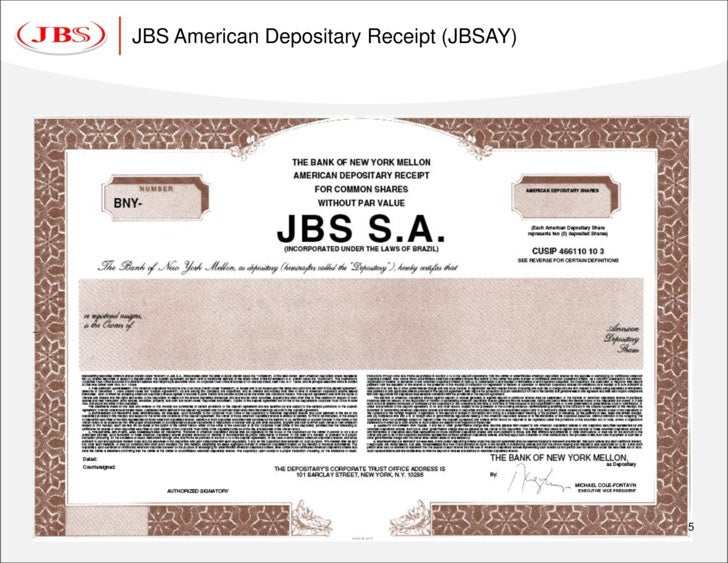 Global Depositary Receipt Global Depository Receipts Gdr