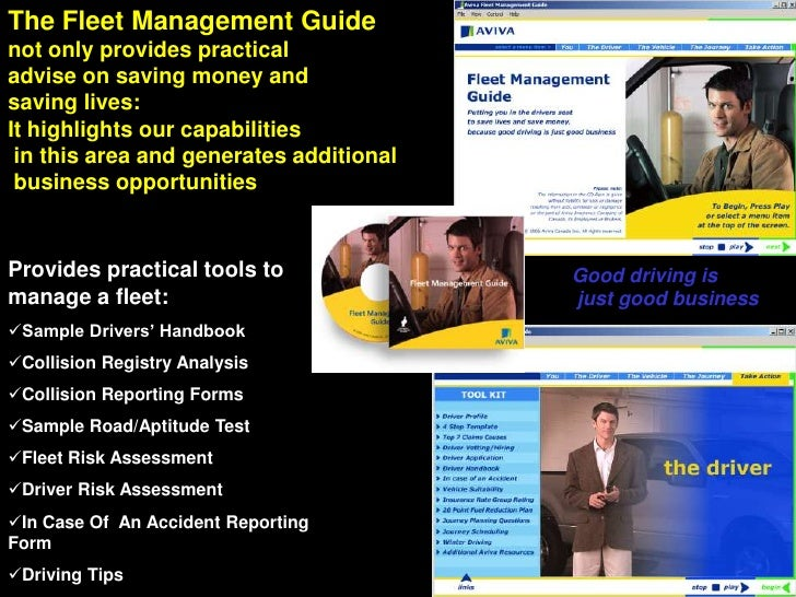 The Fleet Management Guide<br />not only provides practical <br />advise on saving money and <br />saving lives:<br />It h...