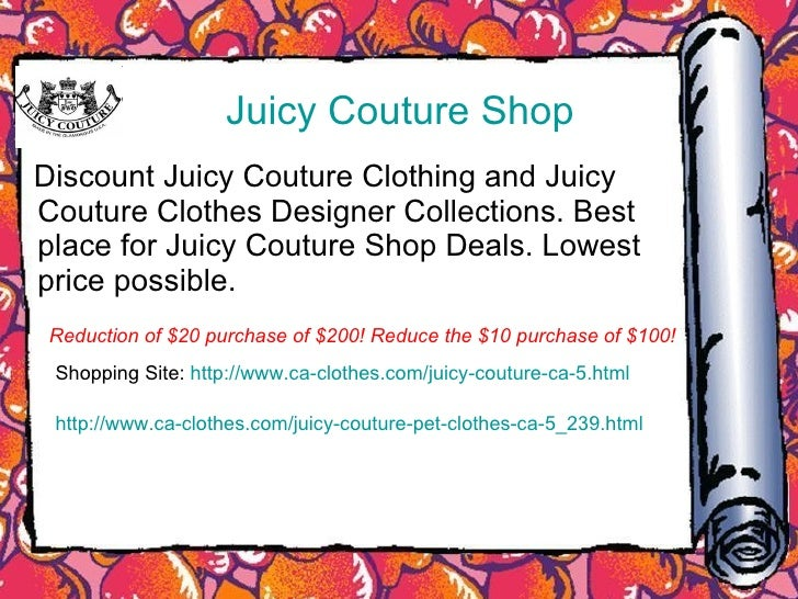 Juicy bear clothing online