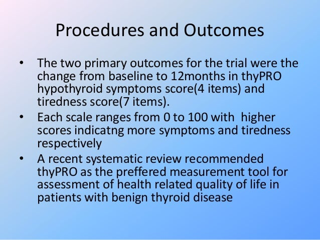 Jcthyroid Hormone Therapy For Older Adults With Subclinical Hypothyro