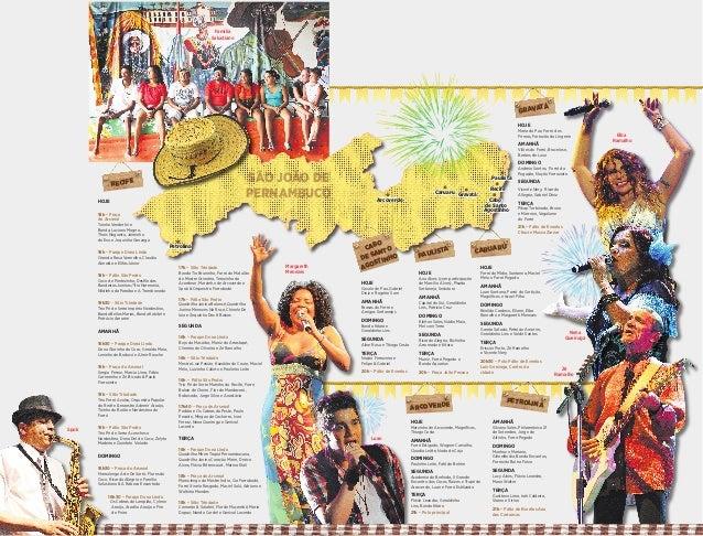 RECIFE PAULISTA GRAVATÁ PETROLINA ARCOVERDE CARUARU HOJE 18h – Praça do Arsenal Toinho Vanderlei e Banda, Luciano Magno, T...