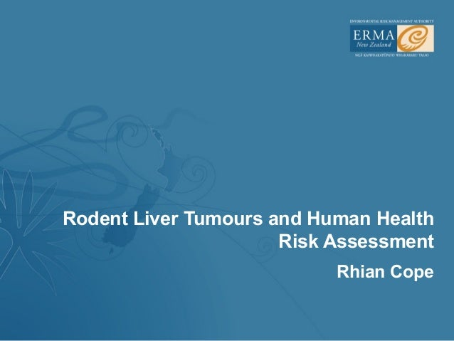 Rodent Liver Tumours and Human Health                      Risk Assessment                           Rhian Cope