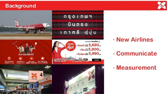 airasia marketing objectives Airasia company 1 the key objective of low cost carriers the followings are few system implementations that airasia has done in its marketing and sales.