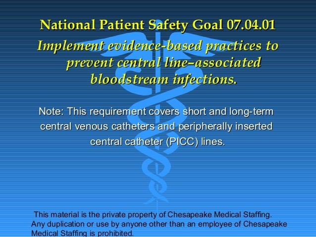 JCAHO 2013 patient safety goals | just b.CAUSE