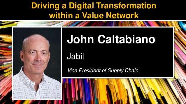 Driving a Digital Transformation within a Value Network
