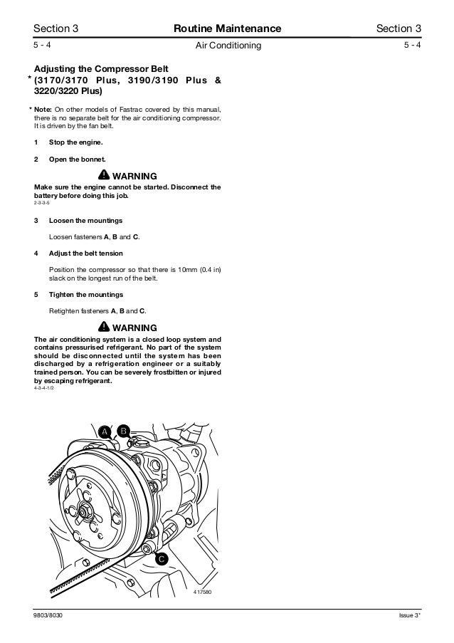 Jcb 3220 plus fastrac service repair manual Jcb Fastrac Wiring Schematics on