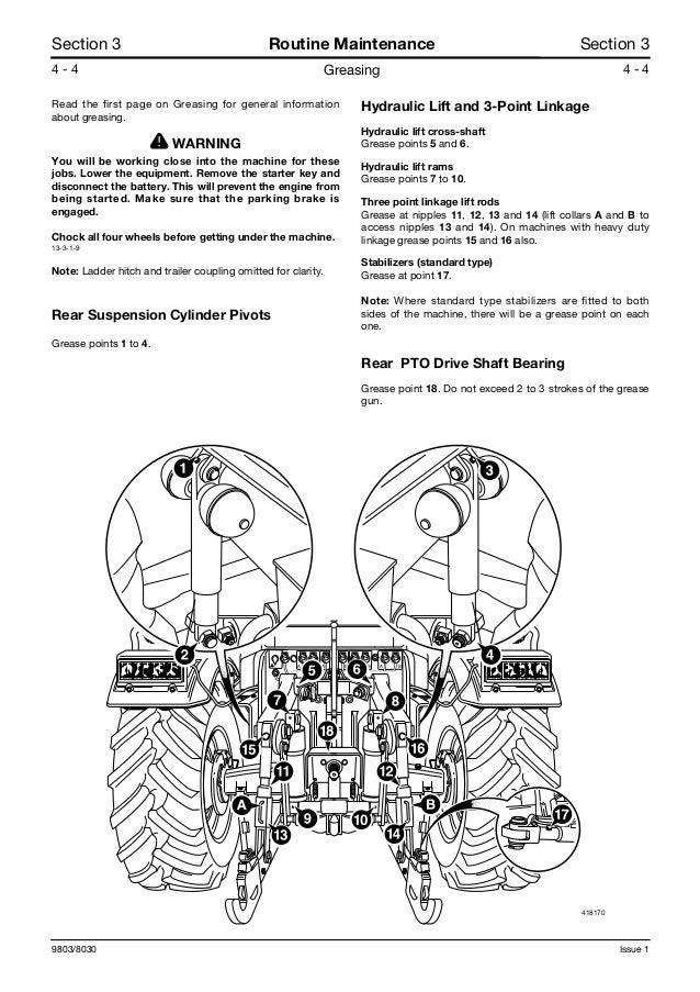 Jcb 3230 plus fastrac service repair manual