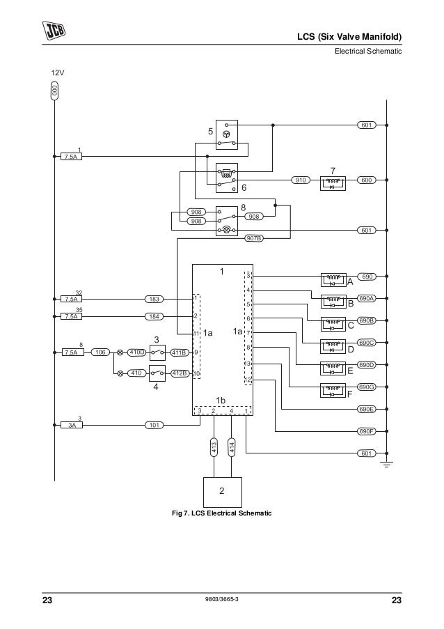 Jcb 1400b Wiring Schematic - Wiring Diagrams Schema on