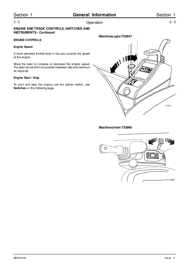 Jcb 802.4 mini excavator service repair manual sn(732450