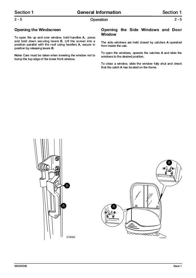 Jcb 8027 z mini excavator service repair manual sn898000