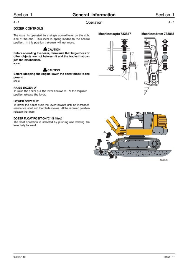 Jcb 802super mini excavator service repair manual sn