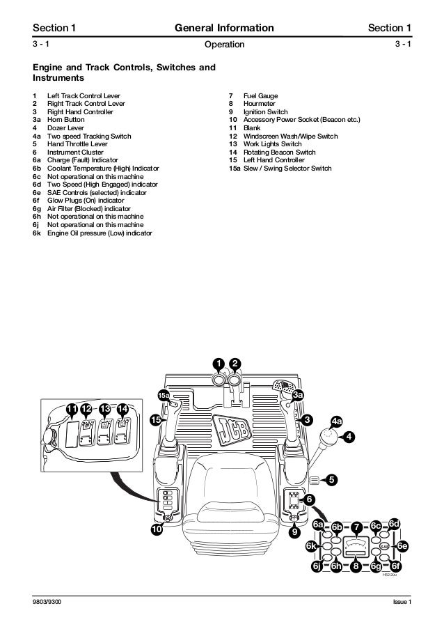 Jcb 8032 z mini excavator service repair manual sn899000