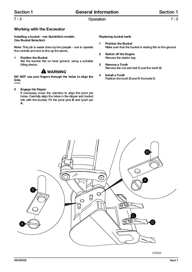 Jcb 8032 z mini excavator service repair manual sn899000