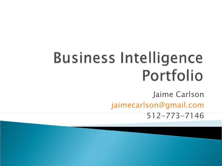 Jaime Carlson [email_address] 512-773-7146