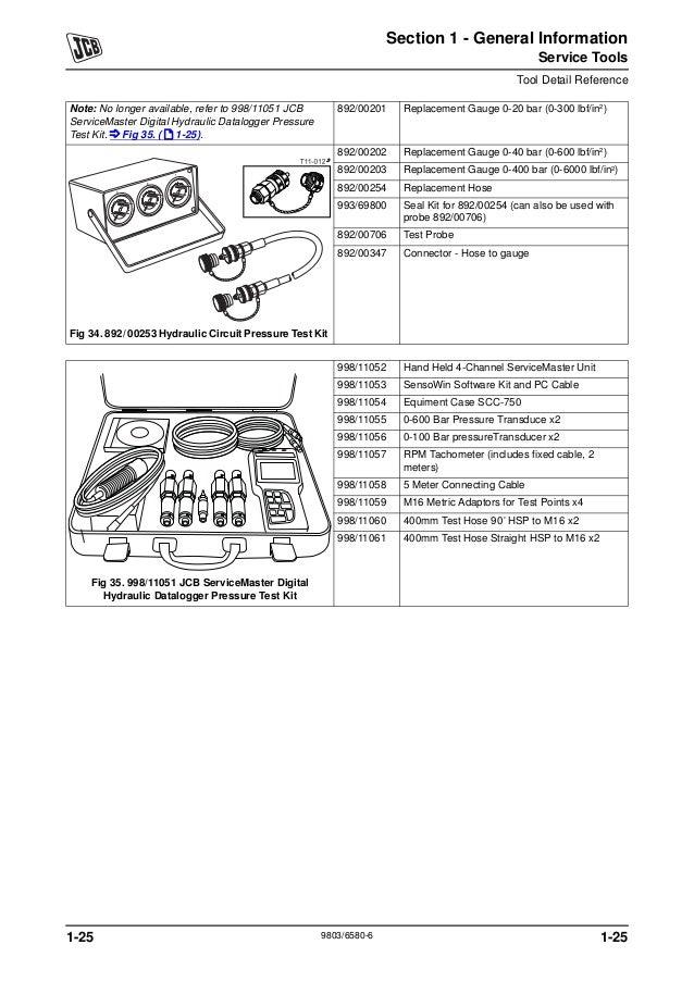 Jcb js210 auto tier3 tracked excavator service repair