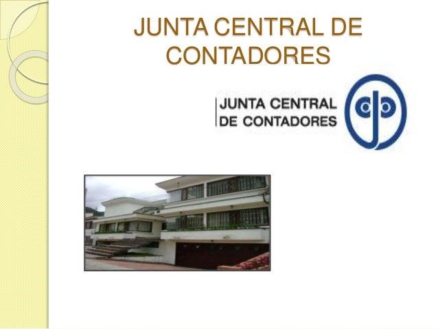 JUNTA CENTRAL DE CONTADORES