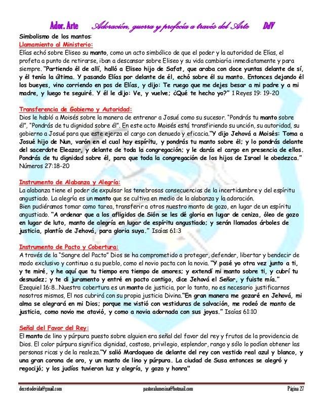 Manual de Artes y danza cristiana Ador Arte