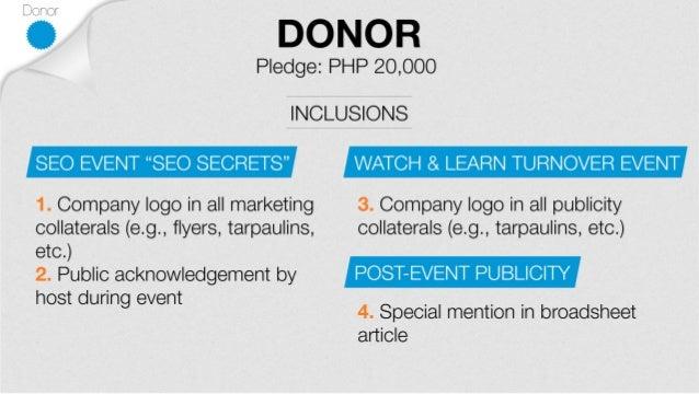 JCI Manila Sponsorship Request