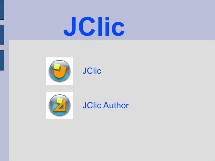 JClic JClic JClic Author