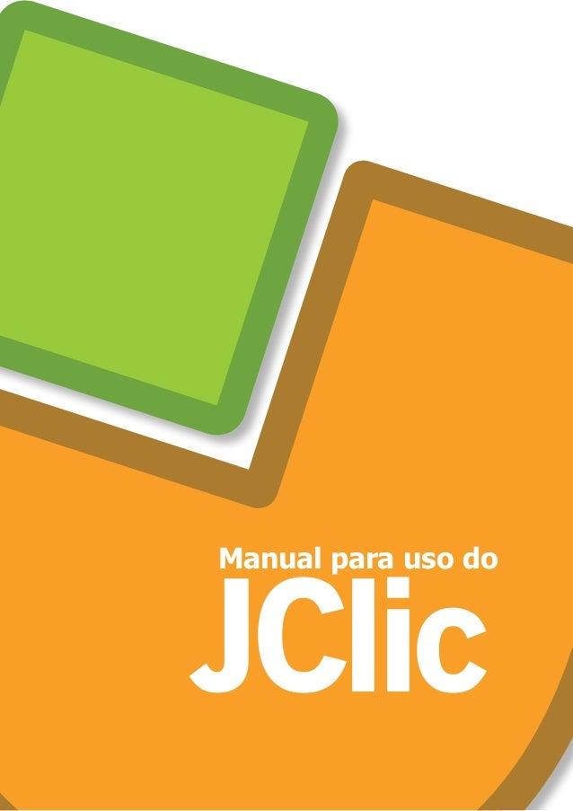 JClic Manual para uso do