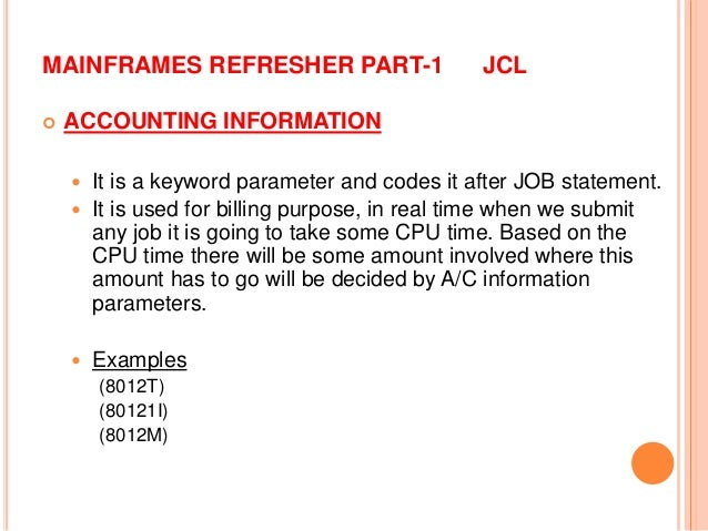 Mainframe JCL Part - 1
