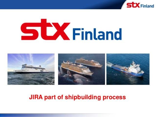 JIRA part of shipbuilding process