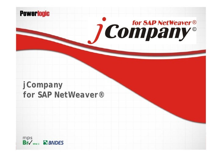 jCompanyfor SAP NetWeaver®