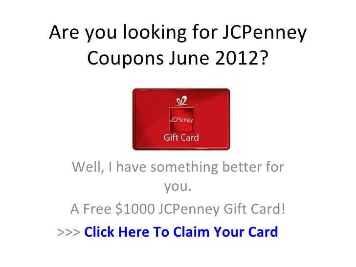 Jcpenney coupons 2018 june - American diabetes wholesale