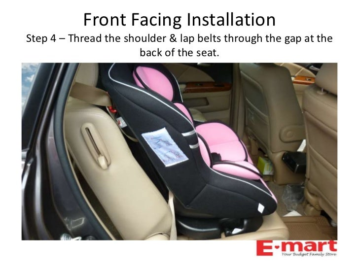 Famili Infant Recline Convertable Car Seat Quick Installtion