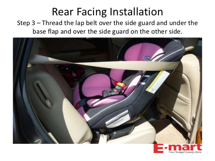 Famili Infant Recline Convertable Car Seat Quick Installtion