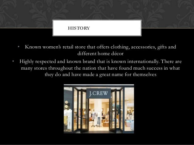 Catherine Towne J CREW: DIGITAL STRATEGY; 2.