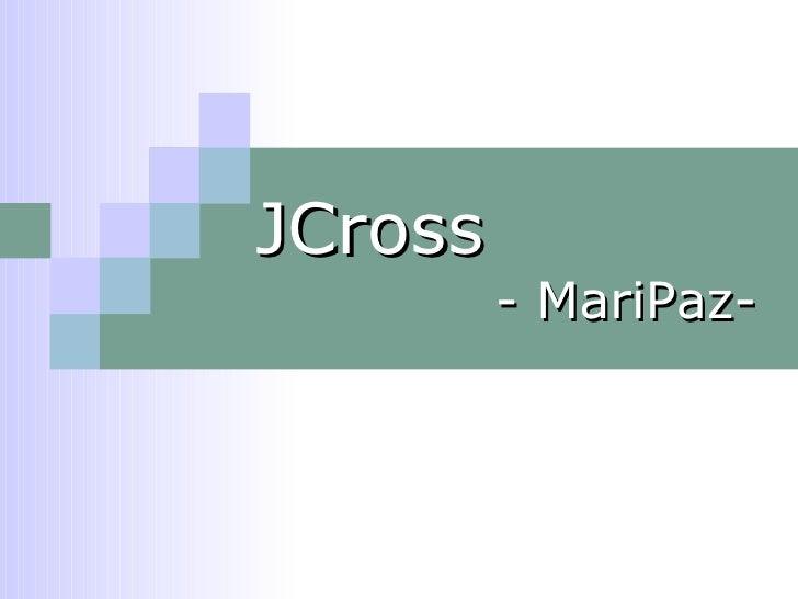 JCross - MariPaz-