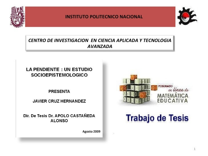 INSTITUTO POLITECNICO NACIONAL CENTRO DE INVESTIGACION  EN CIENCIA APLICADA Y TECNOLOGIA AVANZADA