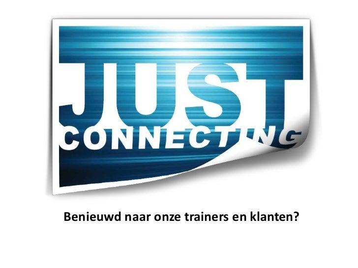 Benieuwd naar onze trainers en klanten?