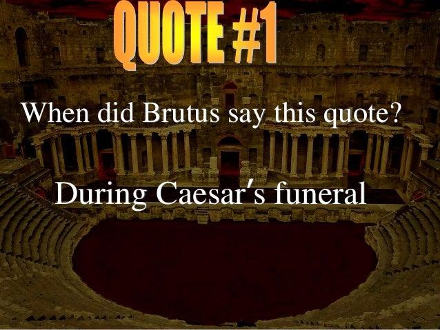 Shakspeares Julius Caesar Test Review