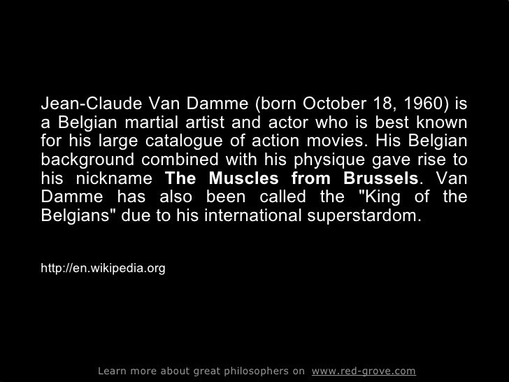 Jcvd_His Best Quotes