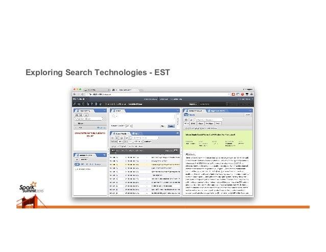 Exploring Search Technologies - EST