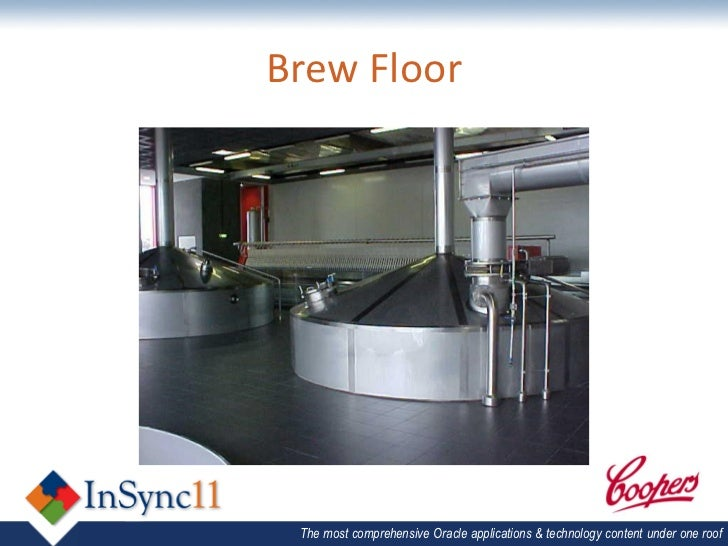 Jd edwards peoplesoft 1 brent coutts for Brewery floor plan software