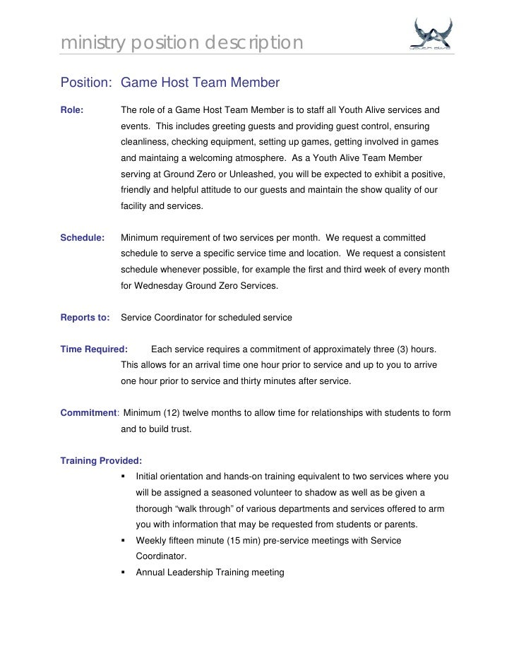 Download The Busser Job Description Spanish Resume For A Waitress