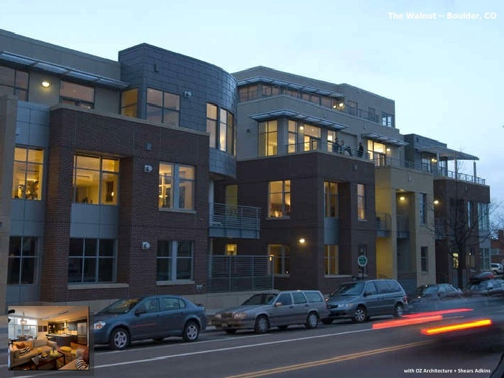 with OZ Architecture + Shears Adkins The Walnut – Boulder, CO